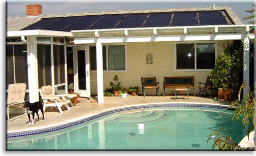 Solar Pool and Spa Heating - Desert Solar Designs